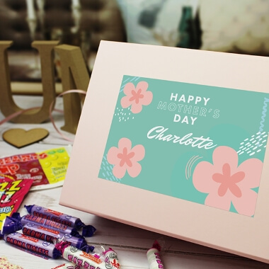 Personalised Exclusive Mother's Day Sweet Box