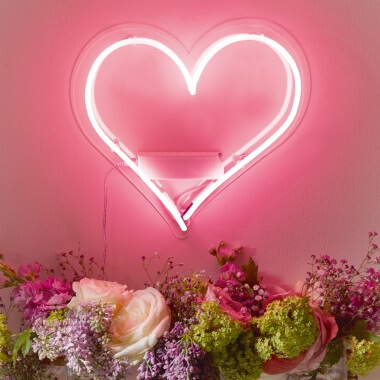 Love Heart Neon Light