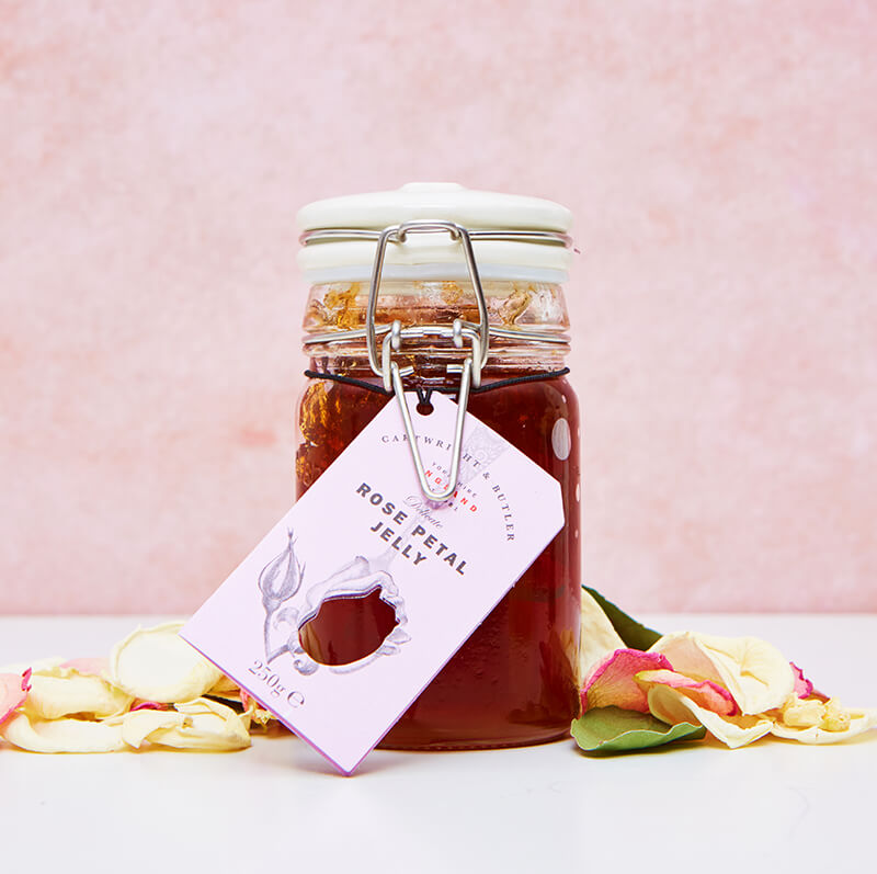 Cartwright And Butler Rose Petal Jelly