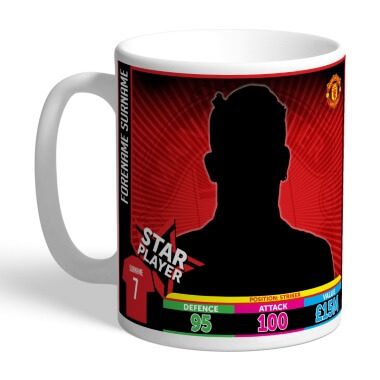 Personalised Manchester United FC Photo Upload Mug