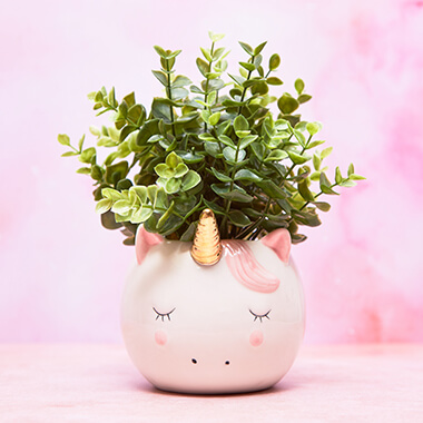Sweet Unicorn Planter