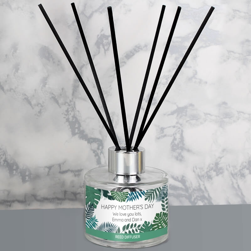 Personalised Tropical Reed Diffuser