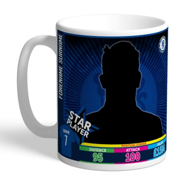 Personalised Chelsea FC Photo Upload Mug