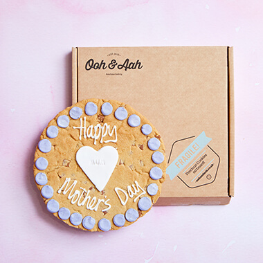 Mother's Day Heart Chocolate Chip Cookie