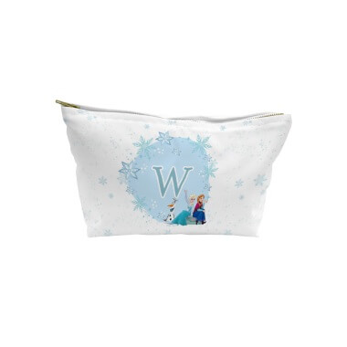 Personalised Disney Frozen Initial Wash Bag