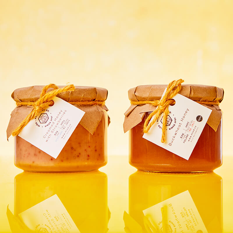 Miod Raw Honey Gift Set - His And Hers