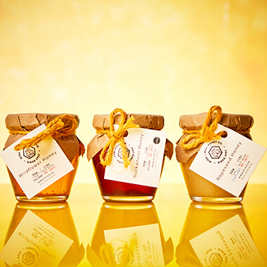 Miod Raw Honey Gift Set - Your Own Selection Of 3