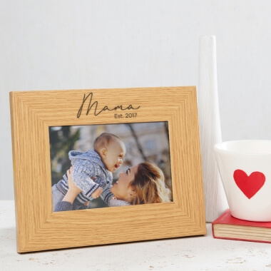 112948 - Personalised Mama Frame