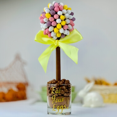 Personalised Mini Egg Sweet Tree