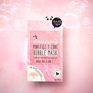 Oh K! Pink Fizz T-Zone Bubble Mask