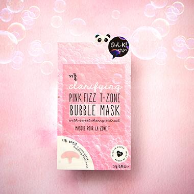 Oh K! Pink Fizz T-Zone Bubble Mask