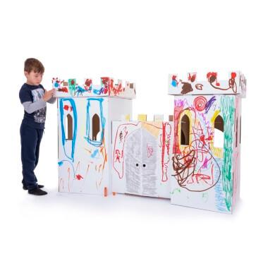 Cardboard Castle - White