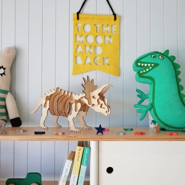 Timber Lamp - Triceratops Kit