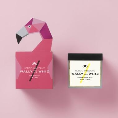 Wine Gum Flamingo Gift Set