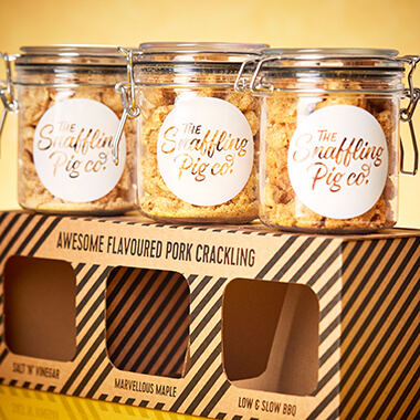 Pig 'N' Mix: Small Sweet & Bold Pork Crackling Gift Set