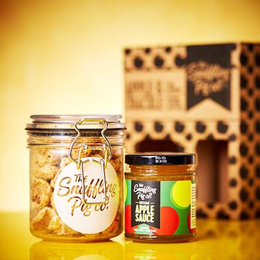 Apple Sauce & Crackle Gift Set