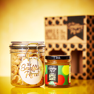 Apple Sauce & Crackle Gift Set