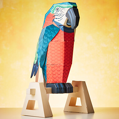 Build a Parrot on a Perch