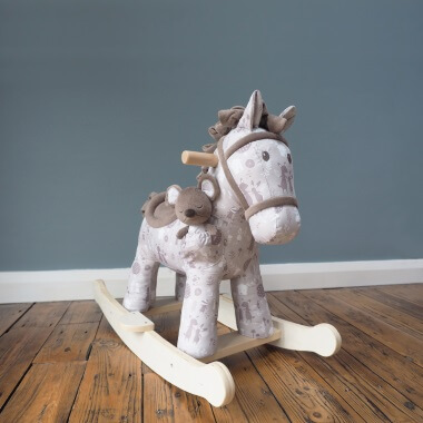 Biscuit And Skip Rocking Horse - 9 Months Plus
