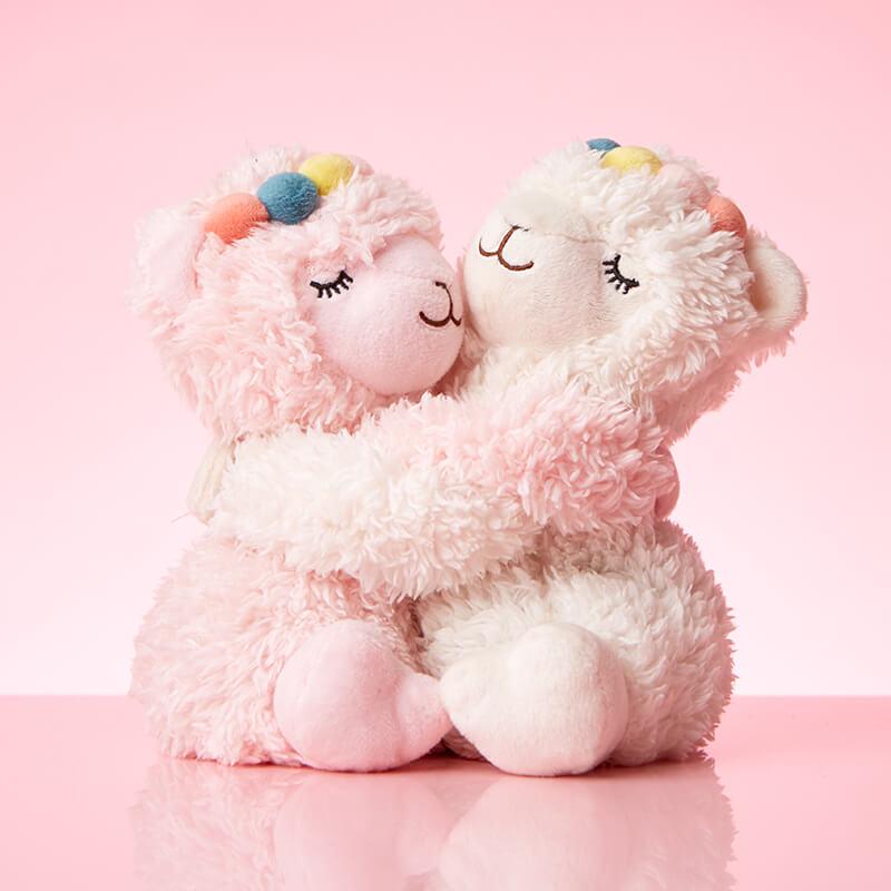 Warm Microwavable Hugs - Llamas
