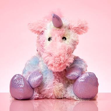Warmies Microwavable Plush Toy - Rainbow Unicorn