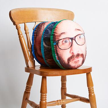 Personalised Mush Cush Face Cushion