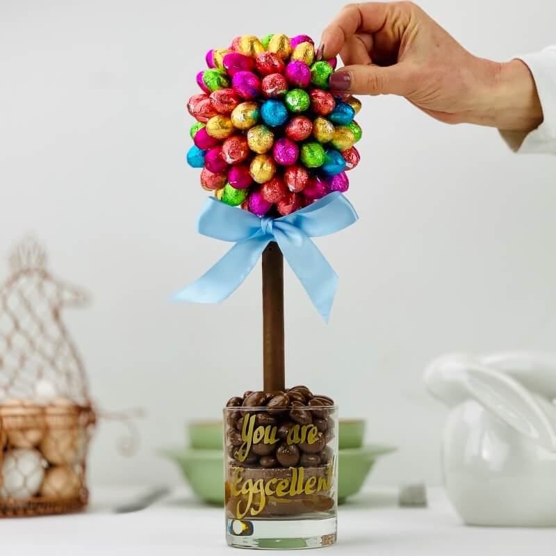 Personalised Foil Chocolate Egg Tree