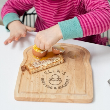 Personalised Kids Egg and Toast Board