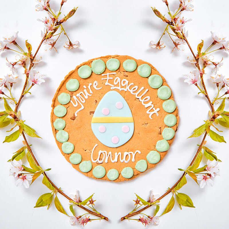 Personalised Egg Easter Cookie