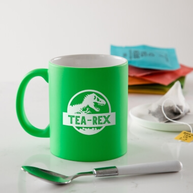 Tea-Rex Coloured Mug