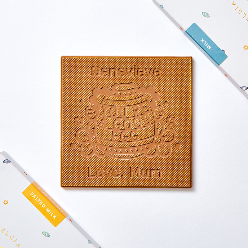 Personalised Good Egg Chocolate Card
