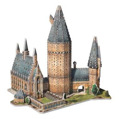 Harry Potter - Hogwarts Great Hall 3D Jigsaw Puzzle Model