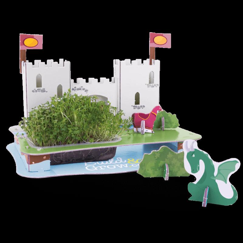 Castle 3D Puzzle Garden - Rocket And Cress Seeds