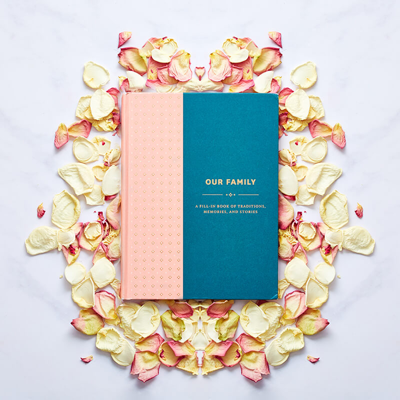 Our Family - Fill In Book