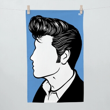 Elvis Tea Towel