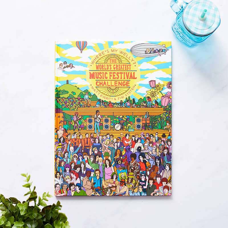 Where's My Welly? Festival Edition Book