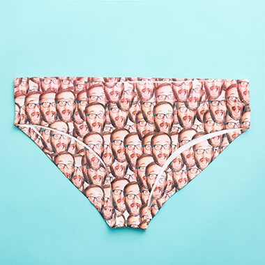 Personalised Photo Women's Underwear