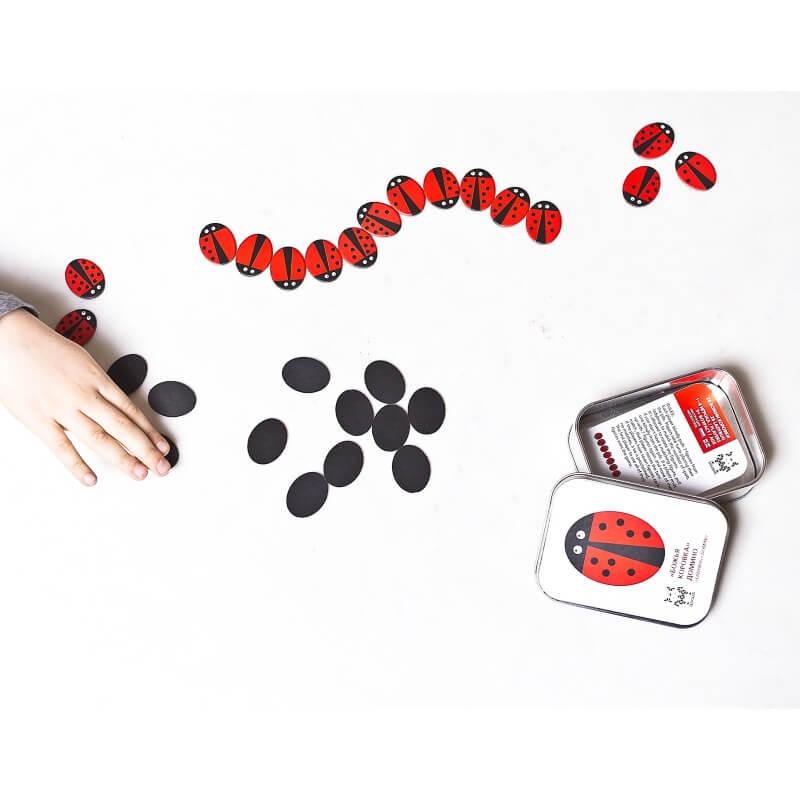 Shusha Ladybug Dominos