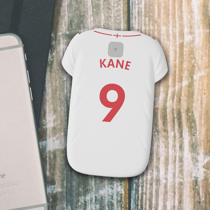 Personalised Football Shirt Powerbank