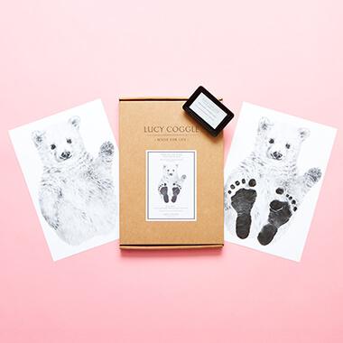Baby Polar Bear Footprint Kit