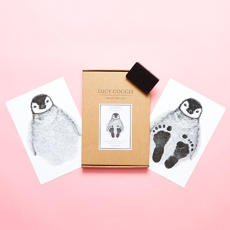 Baby Penguin Footprint Kit
