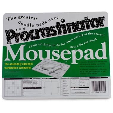 Procrastinator Mousepad Doodler