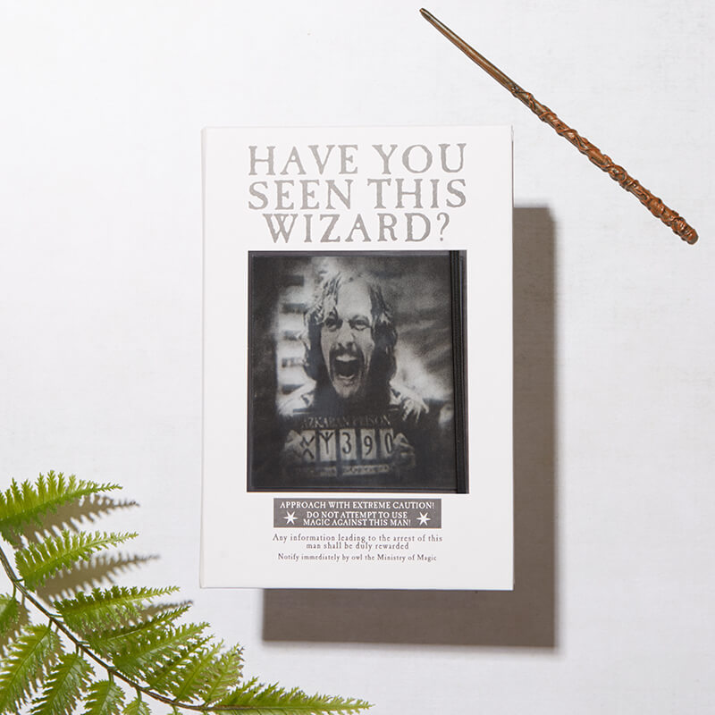 Moving Picture Sirius Black Notebook