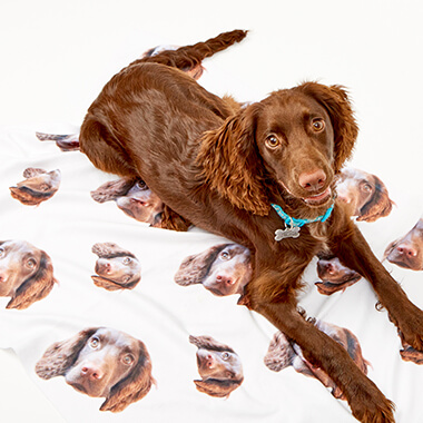 Personalised Photo Dog Blanket