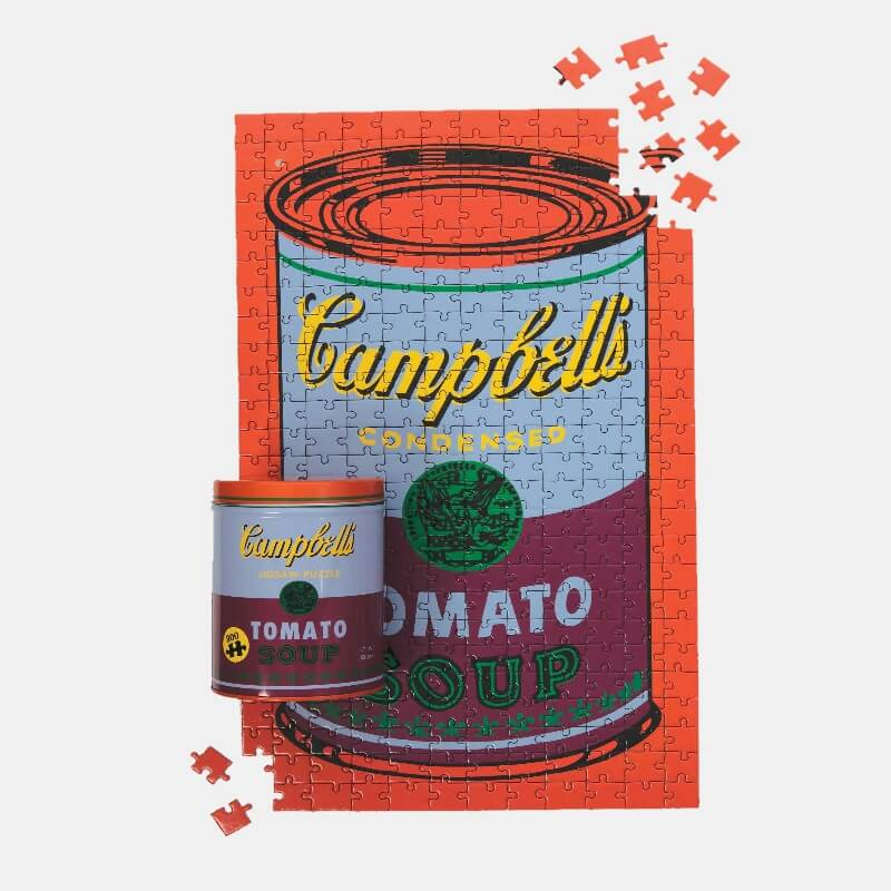 Andy Warhol Soup Can Jigsaw Puzzle