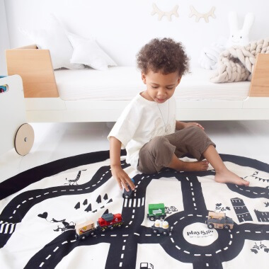 Play And Go Roadmap - Play Mat  And Toy Storage Bag