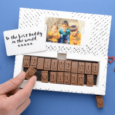 Personalised Chocolates for Dad