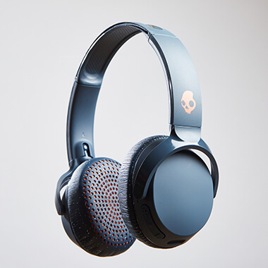 Skullcandy Riff Headphones - Blue Speckle Sunset