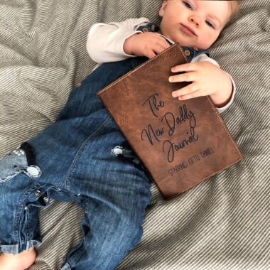 Personalised New Daddy Journal