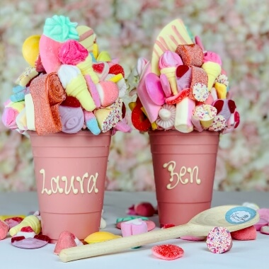 Personalised Milk Chocolate Smash Cup - Pink